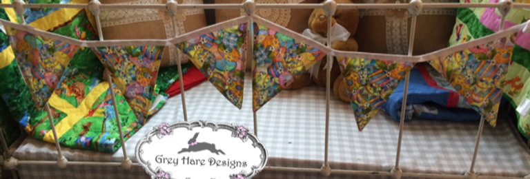 Colorful Easter Banner Bunting