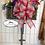 Thumbnail: Spring Floral Bicycle Wall Mount