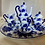 Thumbnail: Blue Willow Miniature Tea Set- FREE SHIPPING!