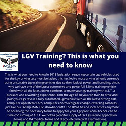 CPC LGV HGV DRIVER TRAINING SCHOOL  CPC MOD4