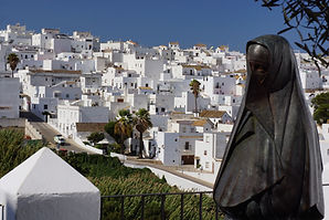 La Cobijada, Vejer (Casa Colina Blanca in the background)