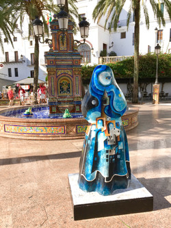 Cobijada en Plaze España