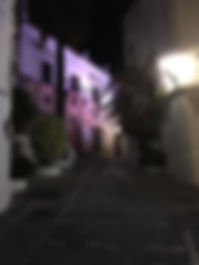 Casa Cultura, Vejer at night