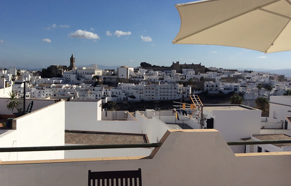 Casa Colina Blanca View of Old Town Vejer