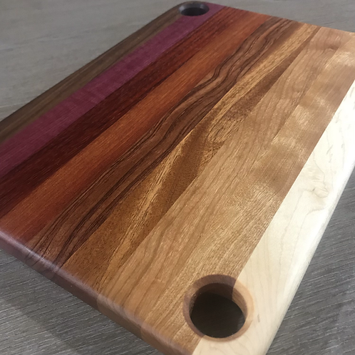 Large Red Heavy Gradient Cutting Board
