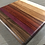 Thumbnail: Large Thick Square Gradient Cuttingboard with Red Fade