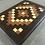 Thumbnail: Large Endgrain Quilt Pattern Board with Walnut Boarder