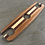 Thumbnail: Sapele Wine Caddie with Off-Center Stripe