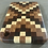 "Thumbnail: Small Endgrain ""X"" Pattern Cuttingboard"