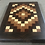 Thumbnail: Large Endgrain Quilt Pattern Board with Walnut Boarder