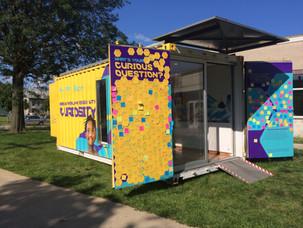 MilliporeSigma's Curiosity Cube™ makes a stop in the Choice Neighborhood!