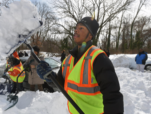 Youth Shoveling Positions Available Through Project Andrew