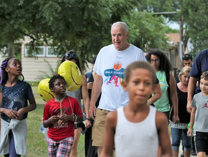Summer Block Party and Walk with the Mayor