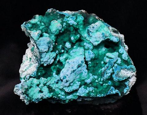 Chrysocolla + Malachite (Congo)