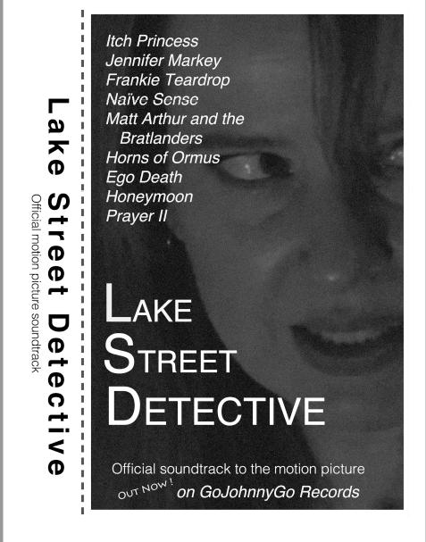 Lake Street Detective soundtrack cassette