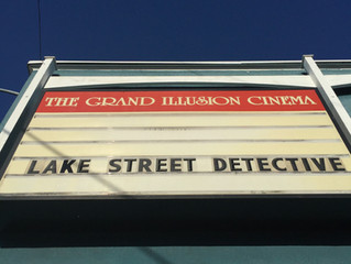 A packed house at the Grand Illusion for Lake Street Detective!