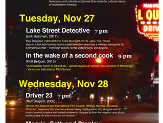 "November! Lake Street Detective plays Twin Cities with ""Cinema Minneapolis"""