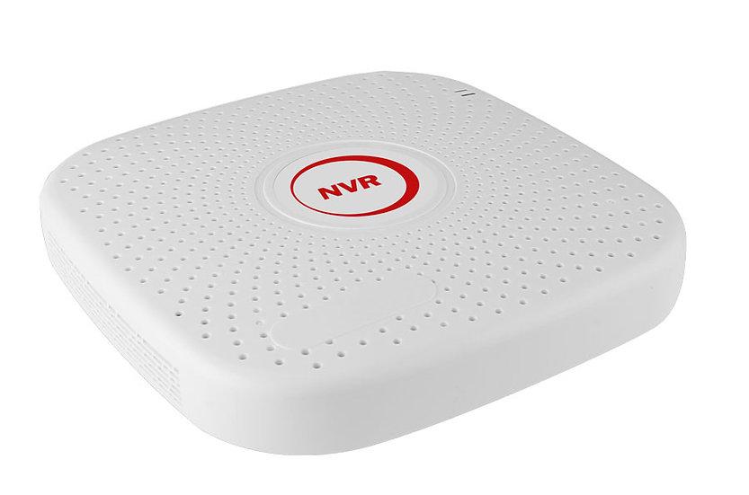 NVR2004PGHP Resolución 1920*1080P, 4CH-POE, 1 SATA hasta 6tb, 4CH hasta 2 MP