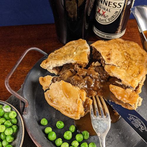 Steak, Guinness & Cheddar Pie