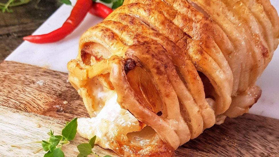Chicken with Bacon & Stilton En Croute