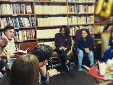 Crashing the Party Author Speaks at Groundwork Books About Dissident Legal Strategies
