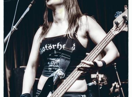 Rock Goddess new bass player!
