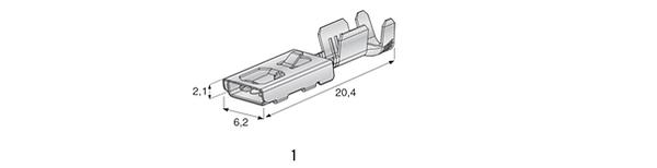FUSE COMPONENTES TERMINAIS F480 E