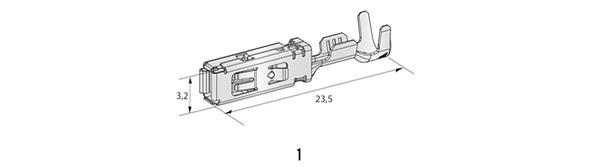 FUSE COMPONENTES TERMINAIS HP6 280