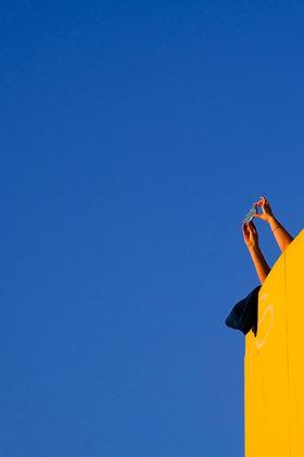 Blue Sky Celebration - Fine art street photography by Chris Silk