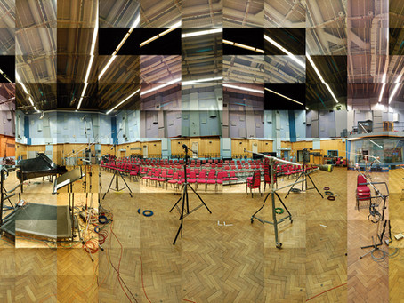 Panoramic Photo Collage of Abbey Road Studios – Studio 1