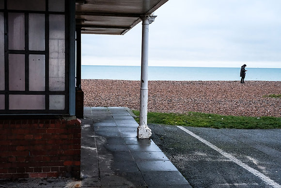 Worthing Seafront - Fine art street photography by Chris Silk
