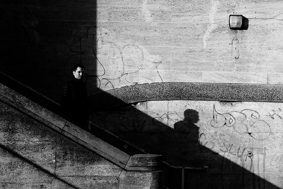 Out Of The Shadows - Fine art street photography by Chris Silk