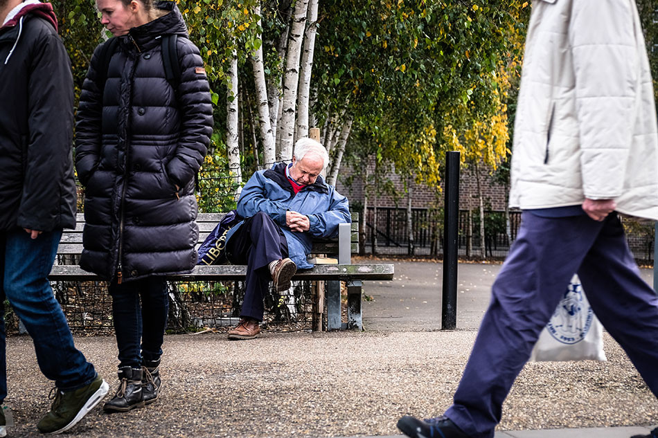 Knowing when to take a break in street photography