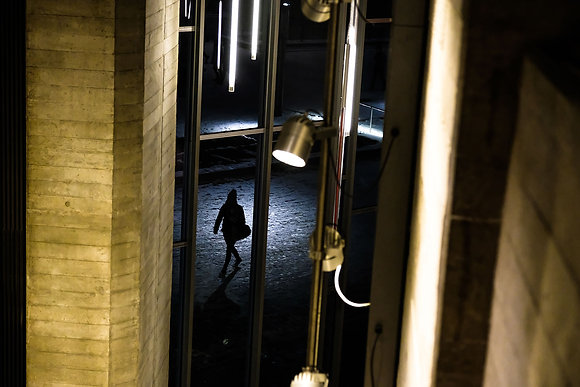 Warmth and Cold - Fine art street photography by Chris Silk