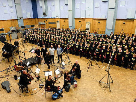 Documentary Event Photography – Abbey Road Studios with Rock Choir