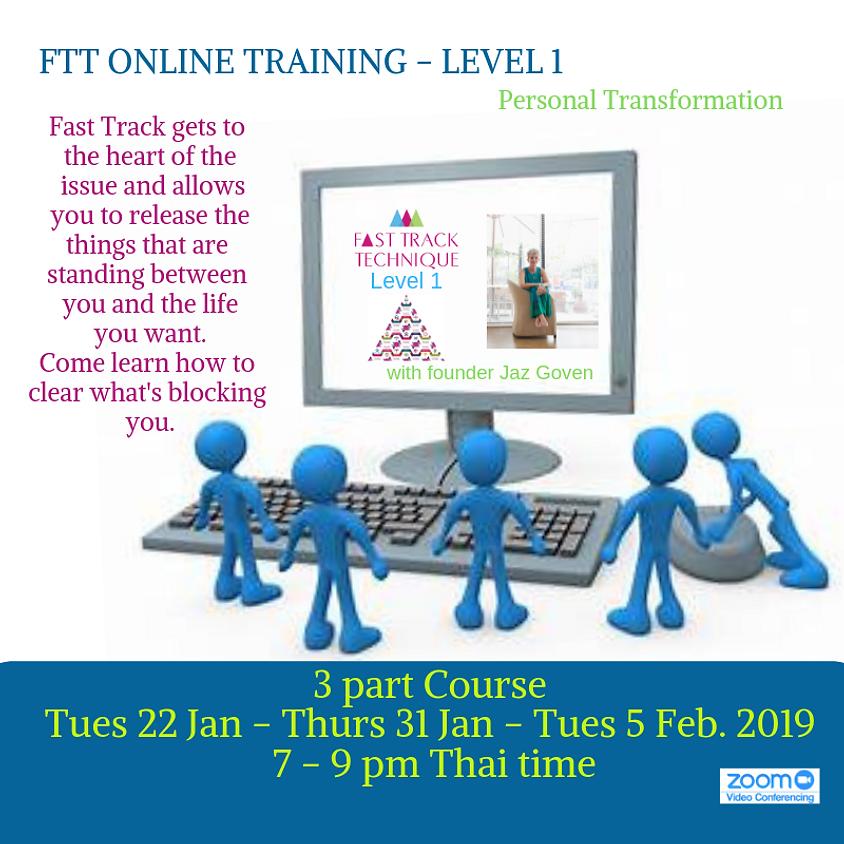 Online Training Fast Track Technique Level 1