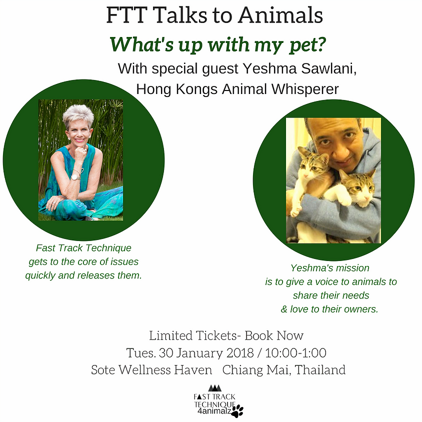FTT Talks to Animals  - What's up with my pet?