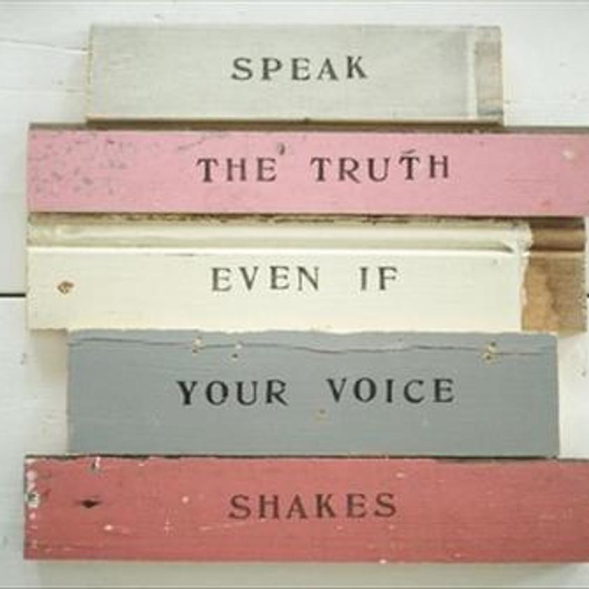 Dare to Speak Your Truth