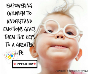Empowering children to understand their emotions gives them the keys to a greater life