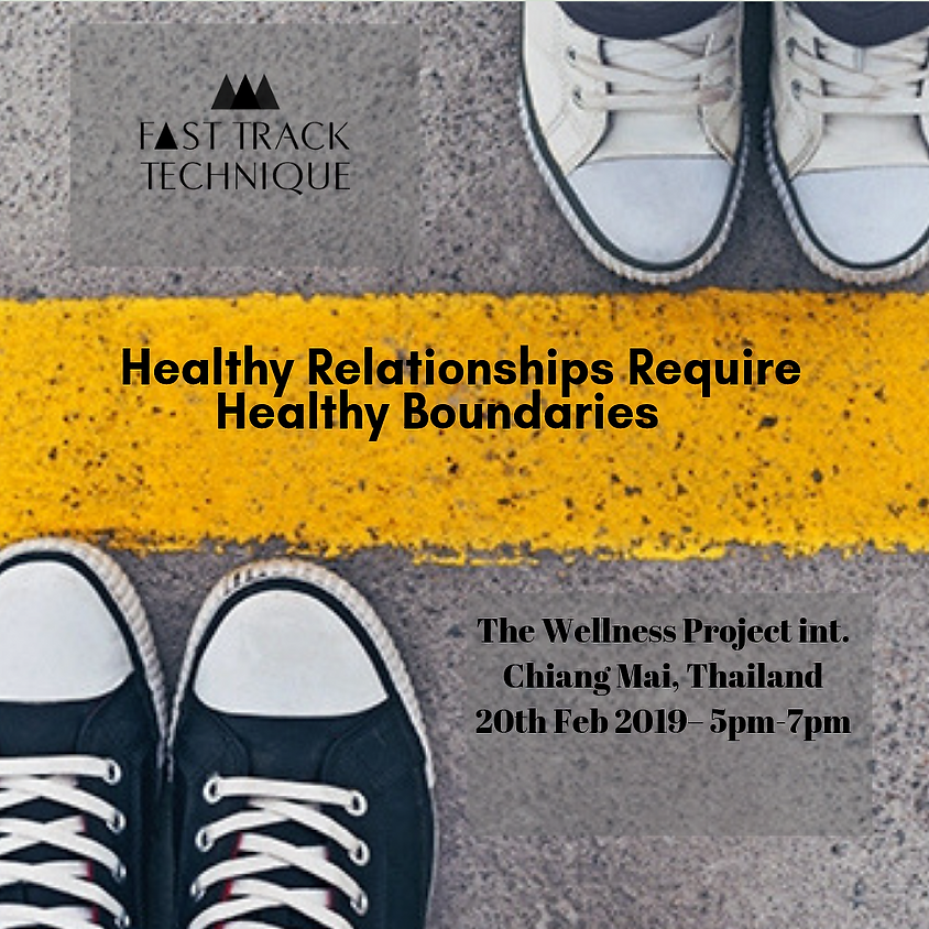 Chiang Mai-Healthy Relationships Require Healthy Boundaries
