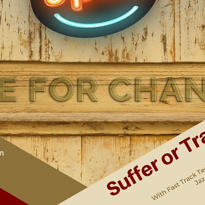 Suffer or Transform? An Awareness Talk