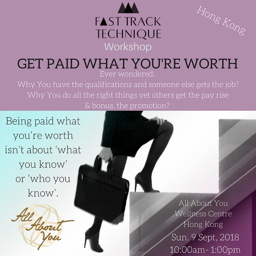 Hong Kong - Get Paid What You're Worth