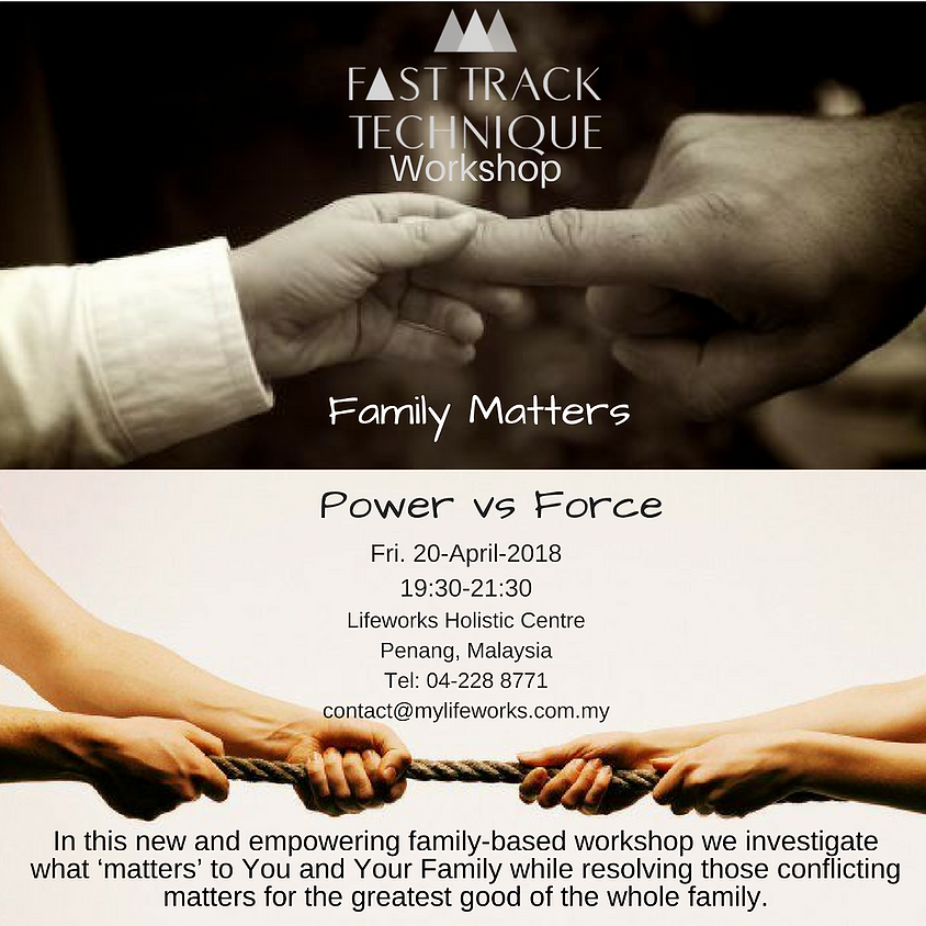 Family Matters - Power vs Force