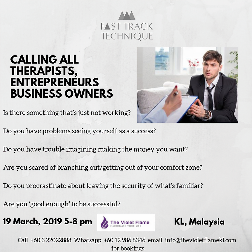 KL-Calling All Therapists, Entrepreneurs & Business Owners