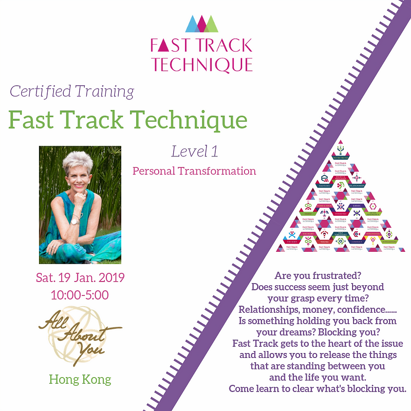 Hong Kong Training Fast Track Technique Level 1
