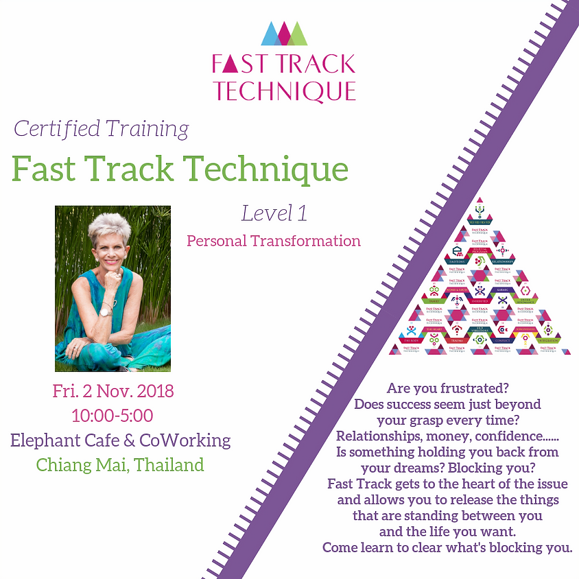 Chiang Mai Training Fast Track Technique Level 1
