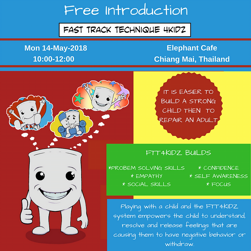 Free Introduction to FTT4KIDZ Chiang Mai