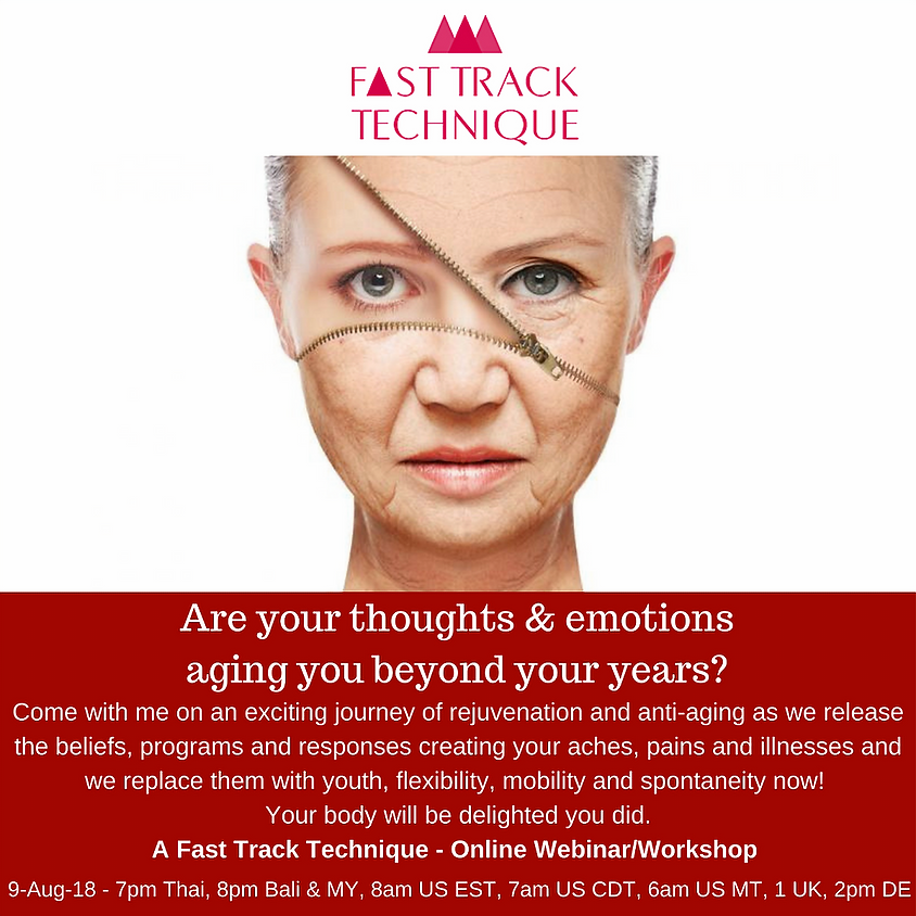 If Your Body is Talking Aging...