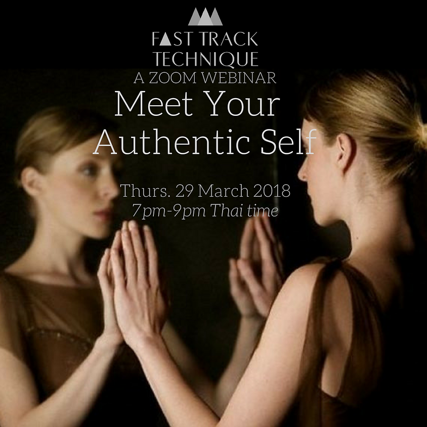 Meet your authentic self  WEBINAR