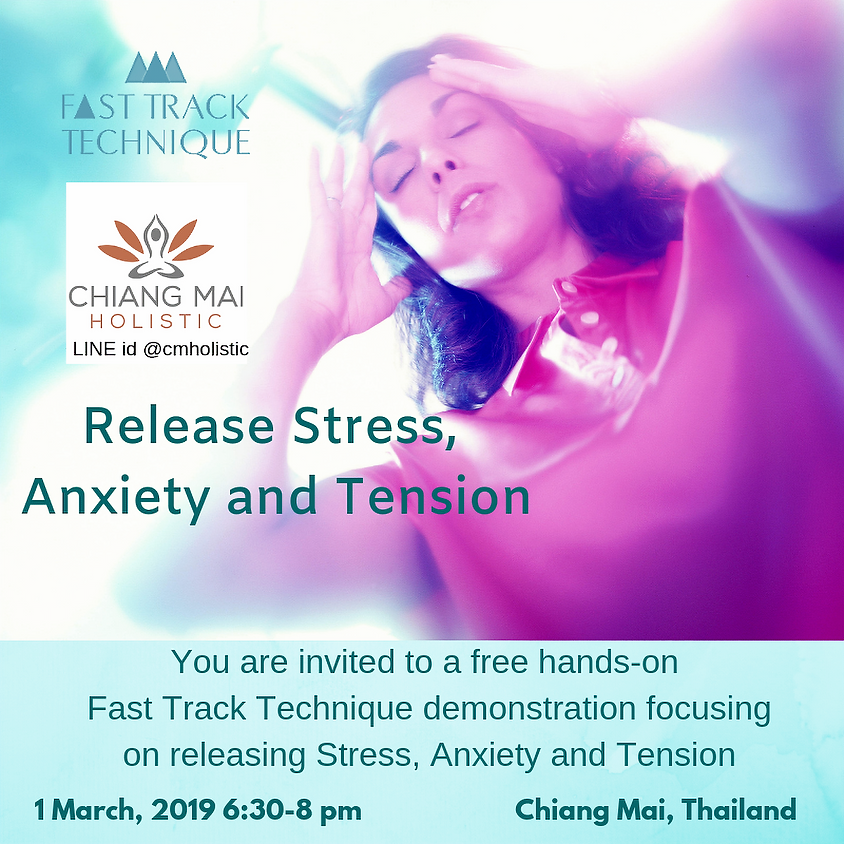 CM-Free hands-on FTT demonstration releasing Stress, Anxiety and Tension